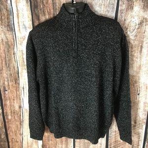 Chaps Ralph Lauren 1/4 Front Zip Sweater